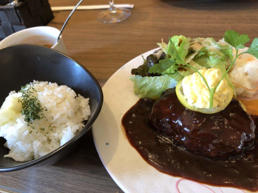 茶房 櫻ン坂 ハンバーグランチ